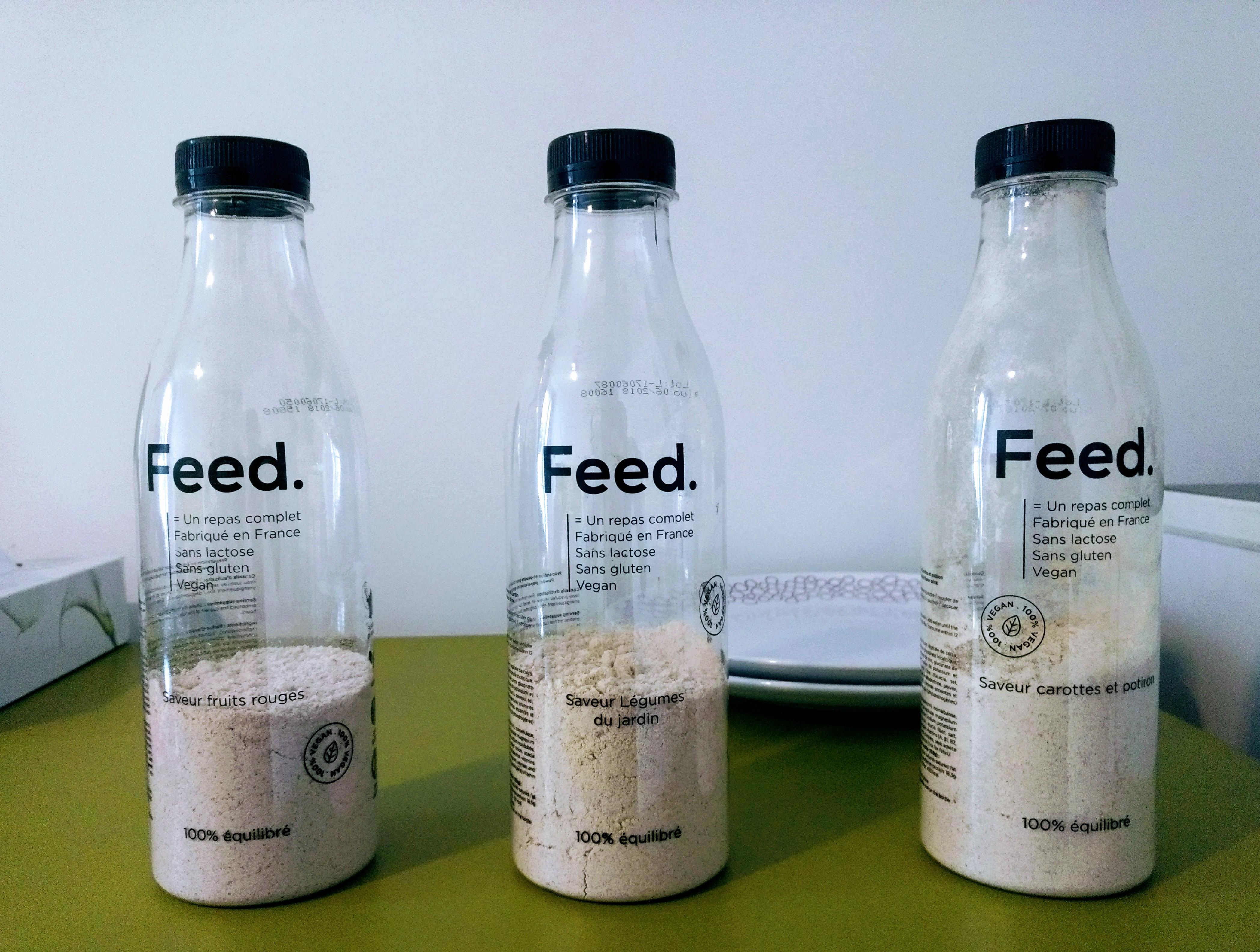 J'ai testé Feed, la smart food française.